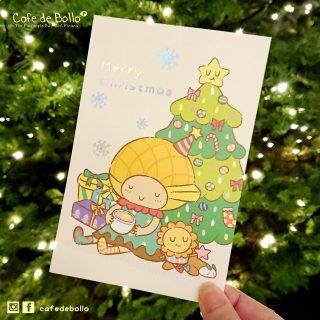2018 菠蘿油妹妹聖誕咭活動